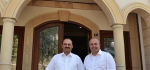 Rektör Aydın'dan Başkan Arslan'a ziyaret