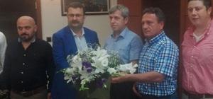 Başkan Caner'den Vali Çınar'a ziyaret