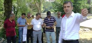 Başkan Yemenici, 15 Temmuz Parkını inceledi