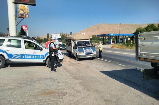 Kahramanmaraş'ta 434 sürücüye 114 bin lira para cezası