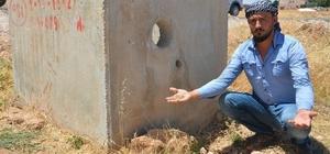 Akçakale'de susuz kalan ekili araziler zarar ediyor