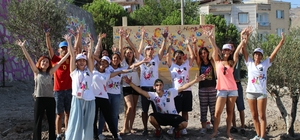 Dünya gençleri Bergama'da buluştu