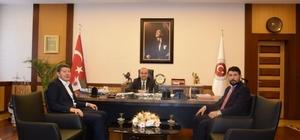 GUSAD ve GİAD başkanları un sıkıntısını bakan yardımcısına anlattı