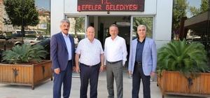 CHP'li Bayır'dan Başkan Özakcan'a ziyaret