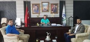 Başkan Bakıcı'ya Bilecik AK Parti Gençlik Kolları Başkanından ziyaret