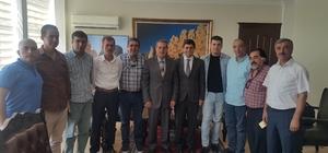 AGAD'tan Vali Kalkancı'ya 'hayırlı olsun' ziyareti