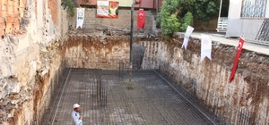Şehit Fahri Yaldız Gençlik Merkezinin temel atma töreni yapıldı