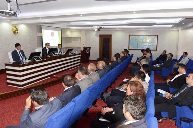 3'ncü dönem koordinasyon kurulu toplandı