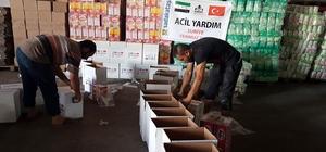 Sadakataşı Derneği'nden Suriye içlerine yardım