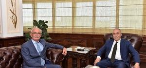 """Yılmaz: """"Bakanımız Fakıbaba ile uzun yıllara uzanan bir dostluğumuz var"""""""