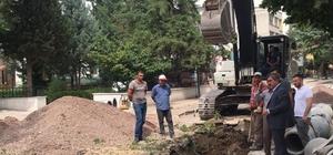 """Başkan Özdemir: """"Yağmur suyu gideri çalışmalarının yüzde 95'i tamamlandı"""""""