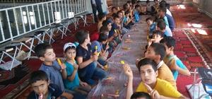 Çelikhan'da yaz kuran kursları devam ediyor