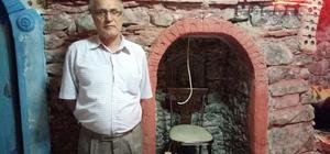 Tarihi konaktaki tuz odası ilgi görüyor