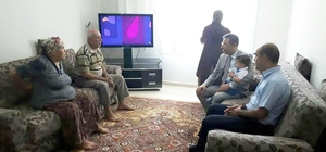 Başkan Pamuk'tan şehit ailesine ziyaret