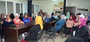 Bingöl'de kadınlara evlilikte iletişim semineri