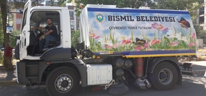 Bismil'de kırsal mahallere 800 çöp konteyneri dağıtıldı