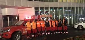 Şiddetli yağmur sonrası belediye ekipleri seferber oldu