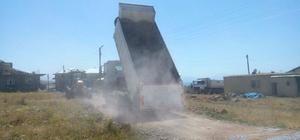 Edremit Belediyesinden yol yapım çalışması