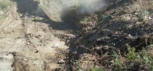 Adala Mahallesi'nde 3 buçuk kilometrelik dere temizliği