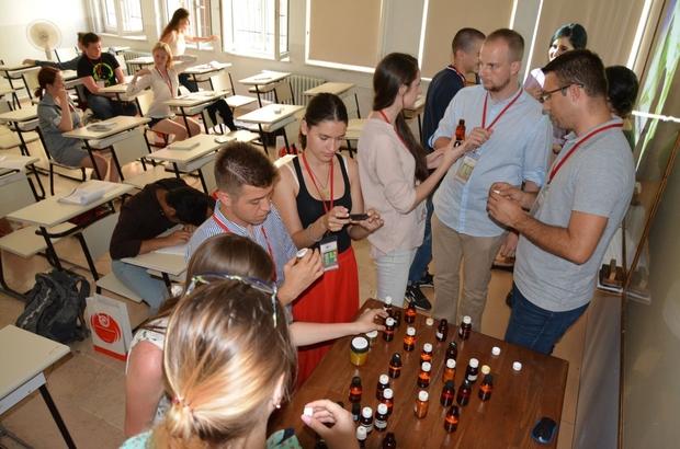 Yabancı öğrencilere kozmetik eğitimi