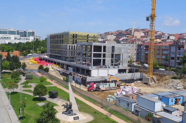 Sultangazi'de üniversite inşaatları yükseliyor
