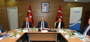 GEKA 97. yönetim kurulu toplantısı, Denizli'de gerçekleştirildi