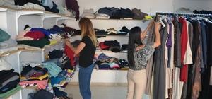 Paranın geçmediği giyim market ile iki bin aileye ulaşıldı