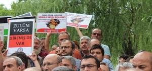 İsrail'in, Mescid-İ Aksa'daki zulmü protesto edildi