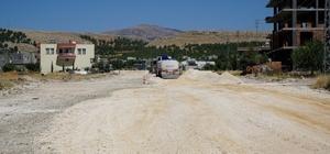 Yeşilyurt'ta asfalt öncesi hazırlıklara başlandı