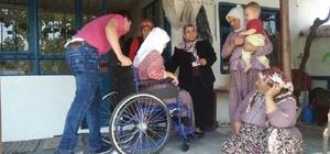 Yunusemre Belediyesi ile tekerlekli sandalyelerine kavuştular