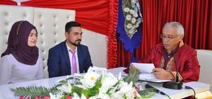 Sorgun'da yılın ilk 7 ayında 293 nikah kıyıldı
