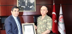 Jandarma Komutanından GTO'ya veda ziyareti