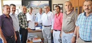 Pancar şefliği binası Gölbaşı Belediyesi'ne Devredildi