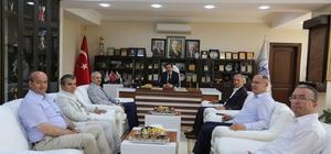 Vali Balkanlıoğlu'ndan, Başkan Dişli'ye iadeyi ziyaret