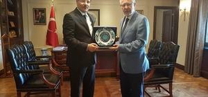 Başbakan Yardımcısı Çavuşoğlu'na hayırlı olsun ziyareti