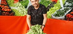 Van'da üretilen sebzeler tezgâhlardaki yerini aldı