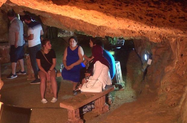 Fakıllı Mağarası turistlerin ilgi odağı oldu