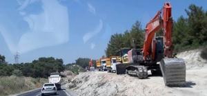 Milas - Yatağan karayolu çözüme kavuşuyor