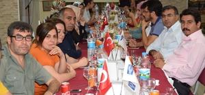 Halk Eğitim Merkezi Müdürü Mahmut Turgut'a veda yemeği