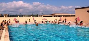 İskenderun'da yüzme kurslarına yoğun ilgi