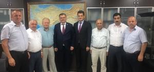 Çaturoğlu, Alaplı Su Birliği heyetini DSİ'ye götürdü