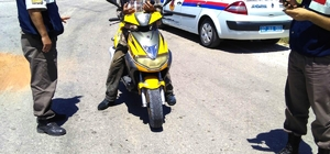 mniyet ve Jandarma'dan motosiklet uygulaması