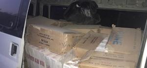 Van'da 48 bin paket kaçak sigara ele geçirildi