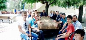 Mudanya Kaymakamı Sözer, vatandaşların sorunlarını dinliyor