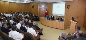 """Vali Demirtaş'ın başkanlığında """"Ekonomi Değerlendirme Toplantısı"""" yapıldı"""