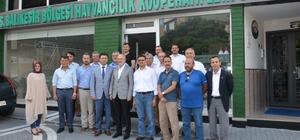"""Altıeylül Belediye Başkanı Zekai Kafaoğlu; """"Belediyemizde hizmet alan vatandaşlara süt ikram edeceğiz"""""""