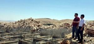 Besni'de okul inşaatları hızla devam ediyor