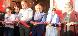 Kilis'te, Hanımeli Meslek Edindirme Merkezi törenle açıldı