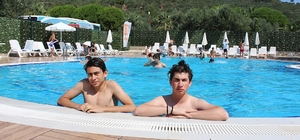 Zeytinburnulu öğrenciler tatilin tadını yaz kampında çıkardı