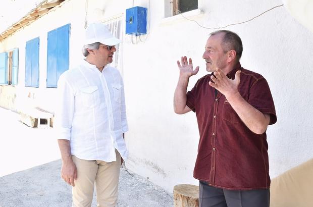 Başkan Demircan, Başbağlar Şehitliğini ziyaret etti